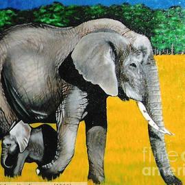 Annette Jimerson - African  Elephants