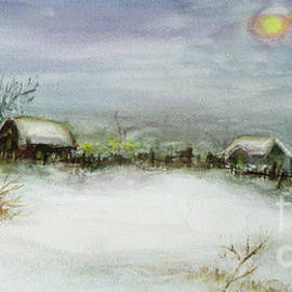 Xueling Zou - After a Heavy Fall of Snow