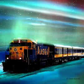 Dianne Roberson - Alaska Train Aurora