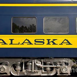 John Greim - Alaska Train Car