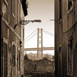 Carlos Caetano - Alley and Bridge