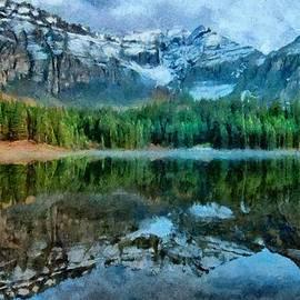 Jeff Kolker - Alta Lakes Reflection