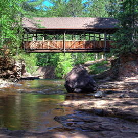 Jeff VanDyke - Amnicon Falls Bridge