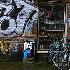 Bob Christopher - Amsterdam Street Scene
