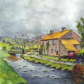 Carol Wisniewski - An Old Stone Cottage in Great Britain