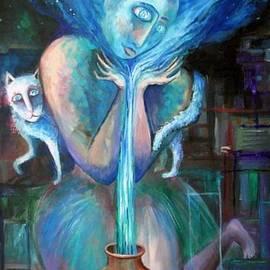 Elisheva Nesis - Angels Of Zodiac. Aquarius The Water Bearer