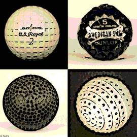 George Pedro - Antique Golf Balls