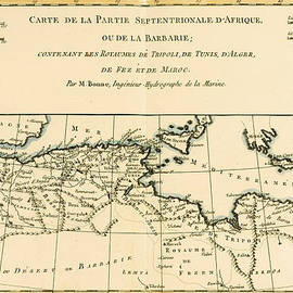Guillaume Raynal - Antique Map of North Africa