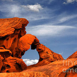 Christine Till - Arch Rock - Amazing show of nature