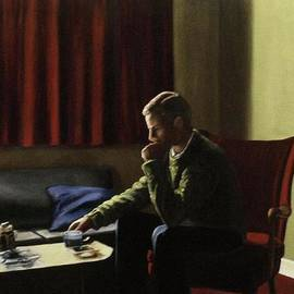 Michael John Cavanagh - Artist as a Young Man London