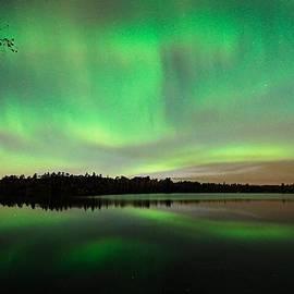Larry Ricker - Aurora over Tofte Lake