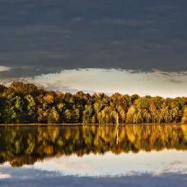 Michael Whitaker - Autumn Colors on the Savannah River 2