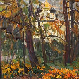 Juliya Zhukova - Autumn in the monastery garden