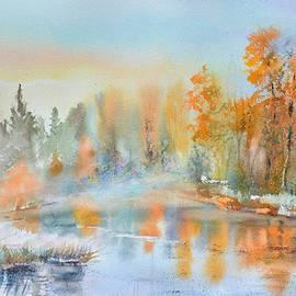 Tatsiana Harbacheuskaya - Autumn lake