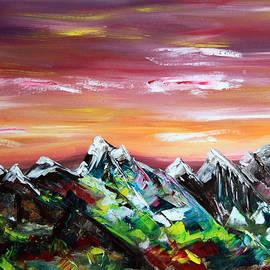 James Bryron Love - Autumn Mountains