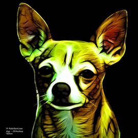 James Ahn - Aye Chihuahua - Yellow