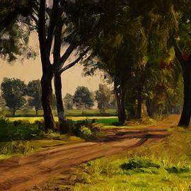 Nop Briex - Baarschot country road