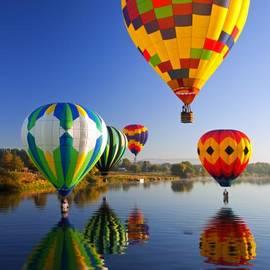 Mike  Dawson - Balloon Reflections