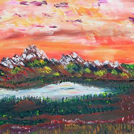 James Bryron Love - Banff Sunsets