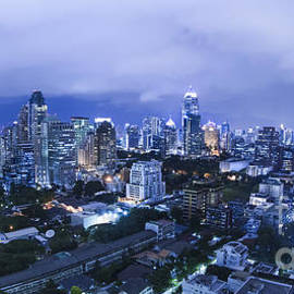 Anek Suwannaphoom - Bangkok city night view
