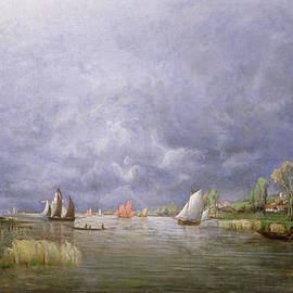 Charles Leroux - Banks of the Loire in Spring