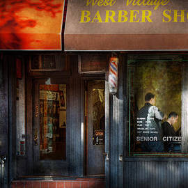 Mike Savad - Barber - NY - Greenwich Village - West Village Barber Shop