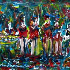 Wanvisa Klawklean - Batak music and dance by the Band Samosir cottage dance