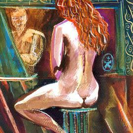 Ion vincent DAnu - Beautiful Redhair Gabrielle