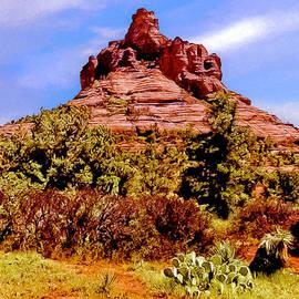 Bob and Nadine Johnston - Bell Rock Vortex Painting