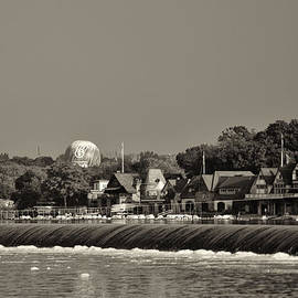Bill Cannon - Below the Dam at Boathouse Row