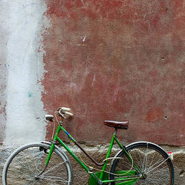 Cliff Wassmann - Bicycle and textured wall