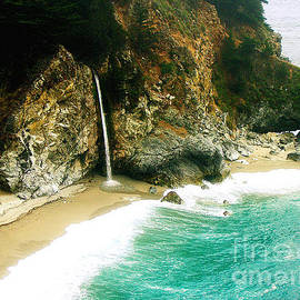 Jerome Stumphauzer - Big Sur Waterfall