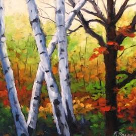 Richard T Pranke - Birches 05