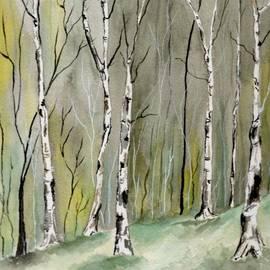 Brenda Owen - Birches Before Spring