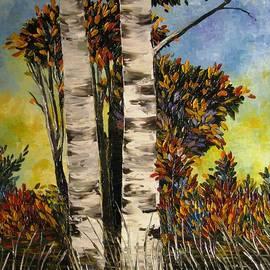 AmaS Art - Birches for my friend