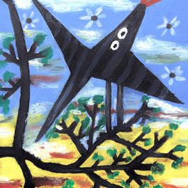 Alexandra Jordankova - Bird On A Tree After Picasso