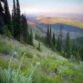 Idaho Scenic Images Linda Lantzy - Bitterroot Shadows