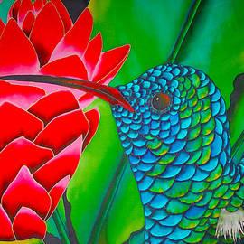Daniel Jean-Baptiste - Blue Hummingbird
