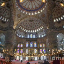 Joan Carroll - Blue Mosque Interior