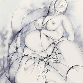 Daniel Culver - Blue Nude