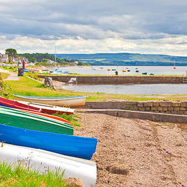 Tom Gowanlock - Boats at Findhorn