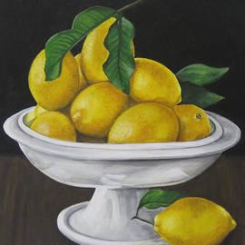 Laurie Dellaccio - Bowl of Lemons