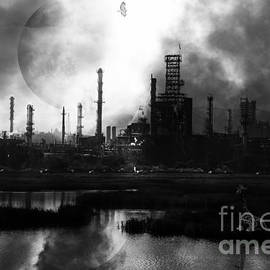 Wingsdomain Art and Photography - Brave New World - Version 2 - Black and White - 7D10358