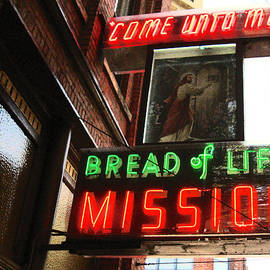 Kym Backland - Bread Of Life Mission Sign