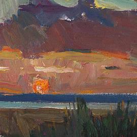 Juliya Zhukova - Bright sunset