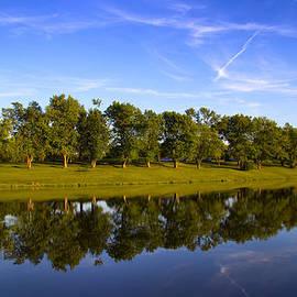 Bill Tiepelman - Broemmelsiek Park - Spring Reflections