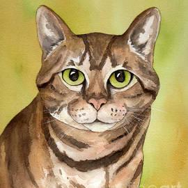 Cherilynn Wood - Brown Tabby Cat