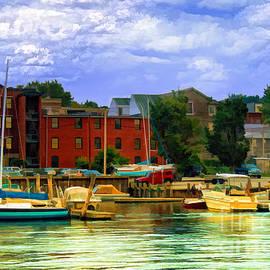 Gina Cormier - Burlington Harbor in Vermont