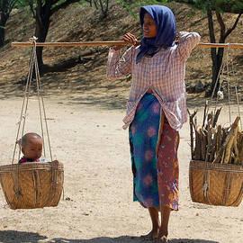RicardMN Photography - Burman woman and son