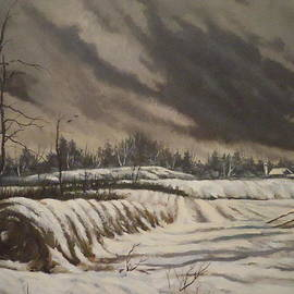 James Guentner - Butler Farm In Winter